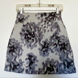 H&M Abstract Floral Skirt